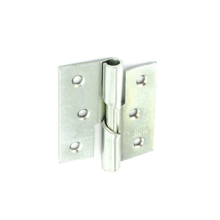 Securit Rising Butt Hinges RH ZP - 75mm